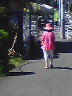 ピンクおばさん