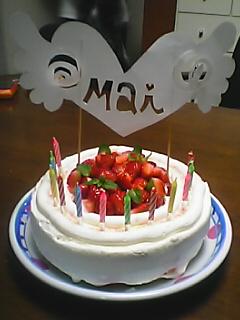 舞のケーキ