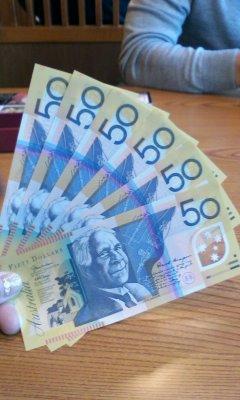 オーストラリア$
